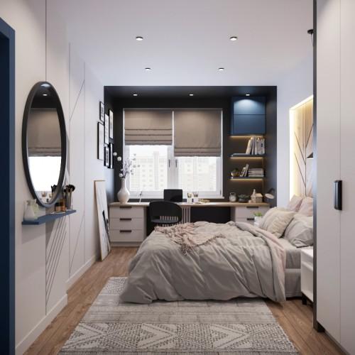 Die Wohnung auf der Kirilla Turovskogo Straße