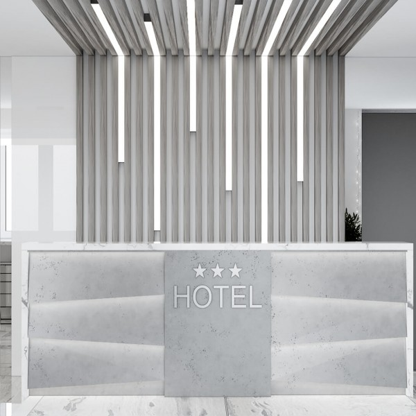 Холл гостиницы в Минске